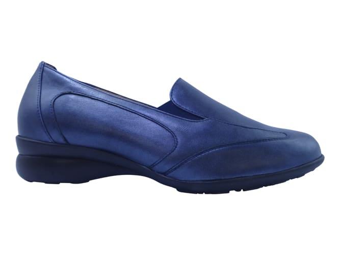 Verhulst Instapper 0110 48 15 Blauw Metallic Wijdte H